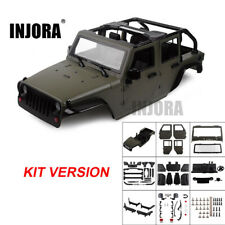 RC Jeep Wrangler 1/10 Hard Body Shell Kit with Roll Bars for Axial SCX10 90046