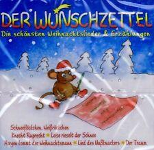 CD NEU/OVP - Der Wunschzettel - Die schönsten Weihnachtslieder & Erzählungen