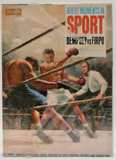 GREAT MOMENTS IN SPORT : DEMPSEY VS FIRPO MODEL KIT MADE BY AURORA IN 1965