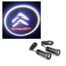 CITROEN C5 C6 C8 Cree LED Door Logo Ghost Shadow Projector Kit Bright & Clear