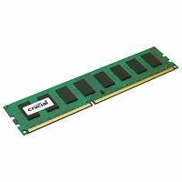 Crucial 4GB DDR3 1600 MHz PC3-12800 CL11 240pin Non ECC Desktop Memory RAM DDR3L