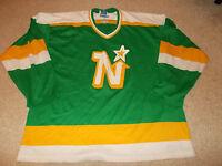 VTG-1980s Minnesota North Stars Maska CCM Gerry Cosby New York Hockey Jersey