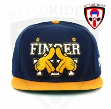 Road Riders Fashionable Snap Back Cap - FINGER