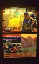 💎KEN GRIFFEY JR UD 1990s HOLOFOIL LOT COLLECTORS CHOICE GOLD AUTO DENNY'S HOF💎