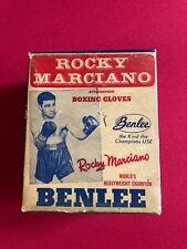 "1950's,Rocky Marciano,""BENLEE"" Glove Set (2) w/ Original Box/Instructions (RARE)"