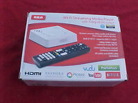 RCA WI-FI STREAMING MEDIA PLAYER WITH 1080P OUTPUT NEW