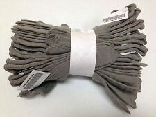 LOT OF 10 WOOL GLOVE INSERTS LINERS CW LIGHTWEIGHT MEDIUM LARGE GRAY NWT 1809
