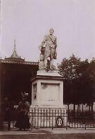 Pau Soprammobile Henri IV snapshot Francia di Carta Foto Citrato Ca 1900
