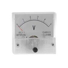 DC Analog Meter Panel 5V  Current Voltage Meter 85C1 0-5V Gauge
