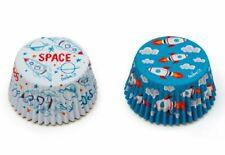 """Muffins-Papierbackförmchen """"MONDRAKETE"""" maxi – 36 Stück, Rakete, Planet, Weltall"""