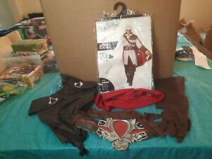 Assassin's Creed Ezio Costume Adult XL 46-48 Spirit Halloween