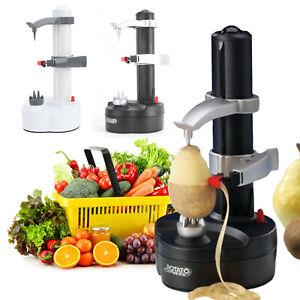 Electric Automatic Peeler Fruit Vegetable Potato Skin Cutter Kitchen Utensil UK