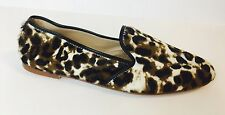 New J.CREW Collection Calf Hair Loafers 6 $298 E0775