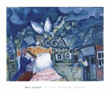 The Dream, 1939 by Marc Chagall Art Print Museum Landscape Poster 24x28