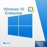 Key Windows 10 Enterprise  key 32/64 100% Original Key Multilenguage
