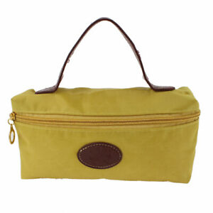 Lady Money Cell Phone Makeup Holder Hand Strap Cosmetic Bag Pouch Yellow