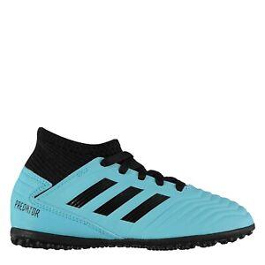 USED kids adidas predator football boots astro turf