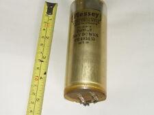 Condensador electrolítico Vintage Plessey 2500uF 50V