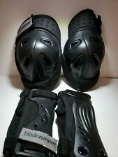 Blade Runner Protective Set- Knee Pads Wrist Guards Youth Large