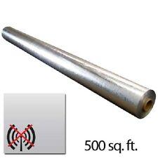 500sqft SCIF Radiant Solid Vapor Barrier EMF Radio RFID Blocker 4x125ft