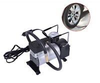 Tragbar Luftkompressor 100PSI Druckluft Luft Pumpe 12V Reifen Auto Fahrrad PKW