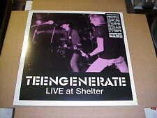 LP:  TEENGENERATE - Live At Shelter JAPAN PUNK SEALED NEW