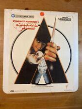 Stanley Kubrick's Clockwork Orange RCA CED Videodisc Two Disc Warner Home VTG
