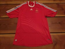 RARE🔥 Adidas France 2008 Euro Cup Alternative Red Jersey Sz XL Xlarge Men's LE