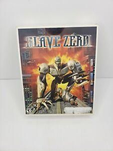 Slave Zero Big Box PC Game RARE InfoGrames Ecstasy Engine Giant Robot
