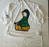 THE B.U.M.S -BROTHAS UNDA MADNESS PROMO T SHIRT XXL WHITE VINTAGE 95 HIP HOP TEE