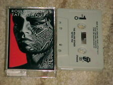 """The Rolling Stones """"Tattoo You"""" Cassette Rolling Stones 1981"""