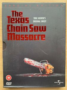Texas Chainsaw Massacre DVD 1974 Tobe Hooper Original Classic w/ slipcover