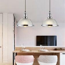 Vintage Bar Pendant Lighting Kitchen Chandelier Lights Silver Home Ceiling Light