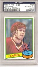 Don Lever 1980-81 O-Pee-Chee PSA/DNA Authentic Autograph Auto