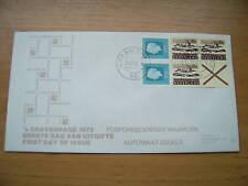 FDC Philato met postzegelboekje 12 blanco