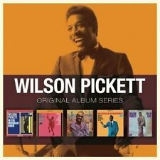 WILSON PICKETT 5CD NEW In The Midnight Hour/Exciting/Wicked/Sound Of/I'm In Love