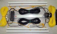 Wide-Band Folded Dipole,Ham, Broadband,1.8-30 Mhz, 300W SSB, 65 feet, (T2FD)