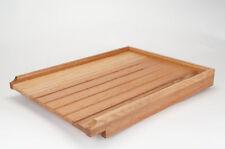 RAISED solid wood oak worktop/belfast sink drainer
