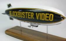 Blockbuster Video Blimp Airship Wood Model Replica XXL Free Shipping