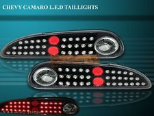 93-97 98-02 CHEVY CAMARO BLACK LED TAIL LIGHTS 95 99 00