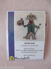 Mouseloft stitchlets Cross Stitch Kit ~ aristo-kat ~ Nuevo ~ Suricata