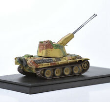 Collection 1:72 WWII Zwilling Flakpanzer Tank Western Front German Tank Kids Toy