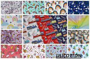 "Material Polycotton Children Fabric Nursery per meter width 115cm(45"")"