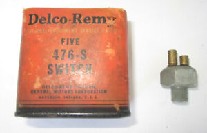 1936-1940 Buick Brake Light Switch. NOS. OEM #1316600, 1290981, 476-S