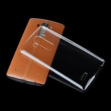 For LG G4 Thinnest Hard Clear Transparent Case / Slim Back Cover + Screen Film