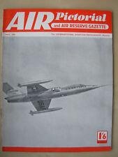AIR PICTORIAL MAGAZINE MAY 1956 USAF LOCKHEED STARFIGHTER