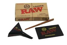 Raw Classic Rolling Papers 1 1/4  and Lean   Cone Loader FREE SHIPPING