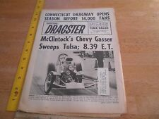 Charlie McClintock Bill Lawton Bill Levitt 1965 National Dragster news magazine