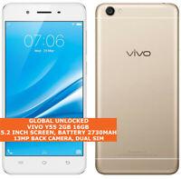 "VIVO Y55 2gb 16gb Quad-Core 13mp Camera Dual Sim 5.2"" Android 4g Lte Smartphone"