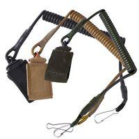 Airsoft Tactical Single Point Pistol Handgun Spring Lanyard Sling Quick Release